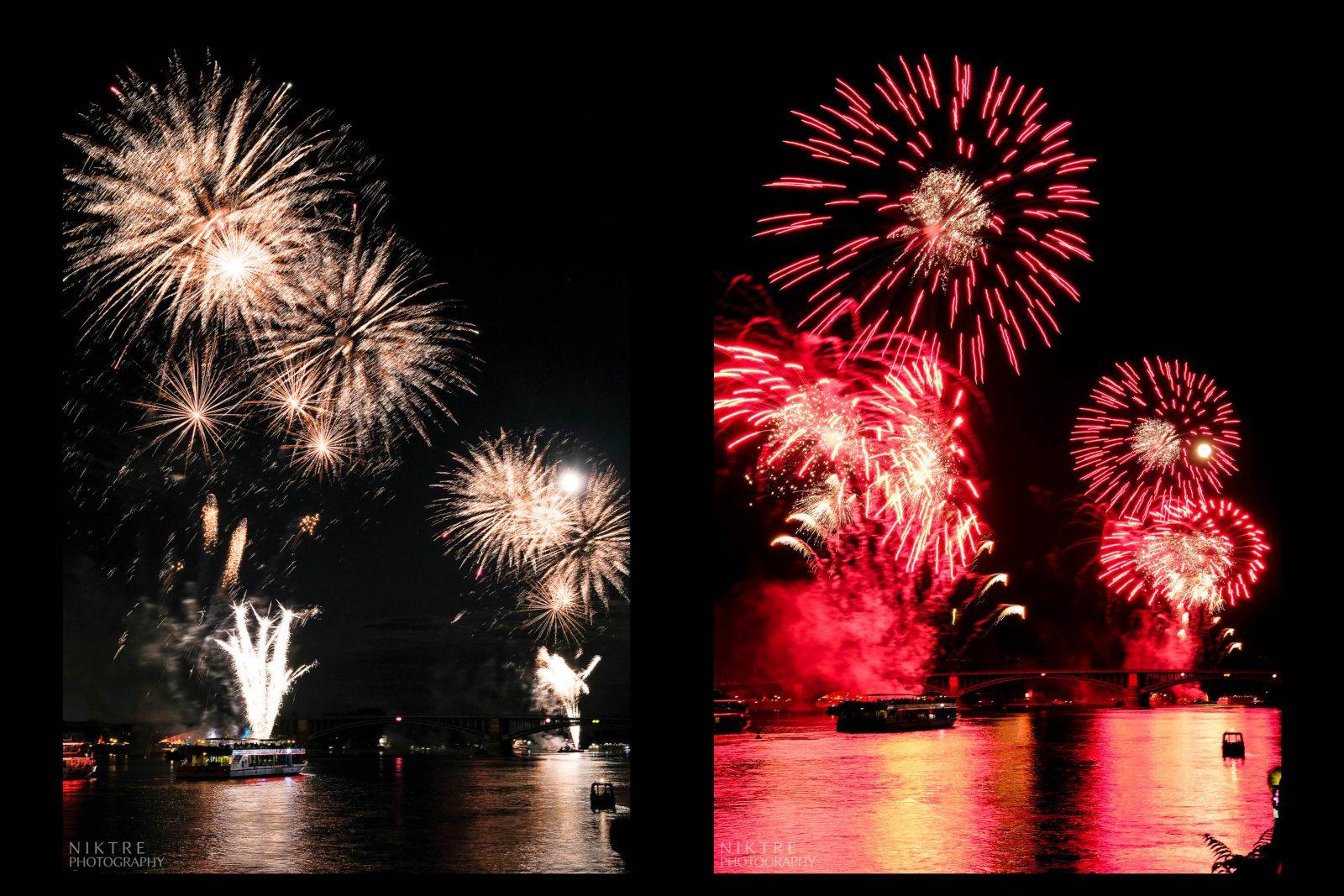 Feuerwerk in Mainz
