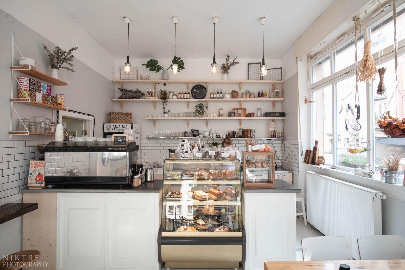 Im Cafe Annabatterie in Mainz