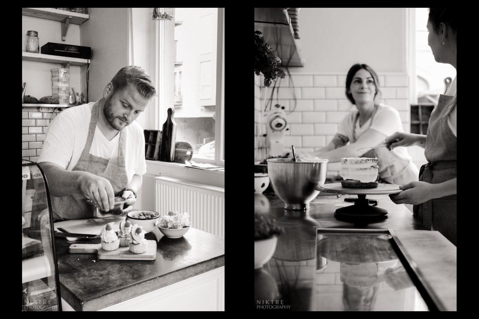 Gesa Kohlenbach und ihr Team dekorieren Torten, Kuchen und Muffins