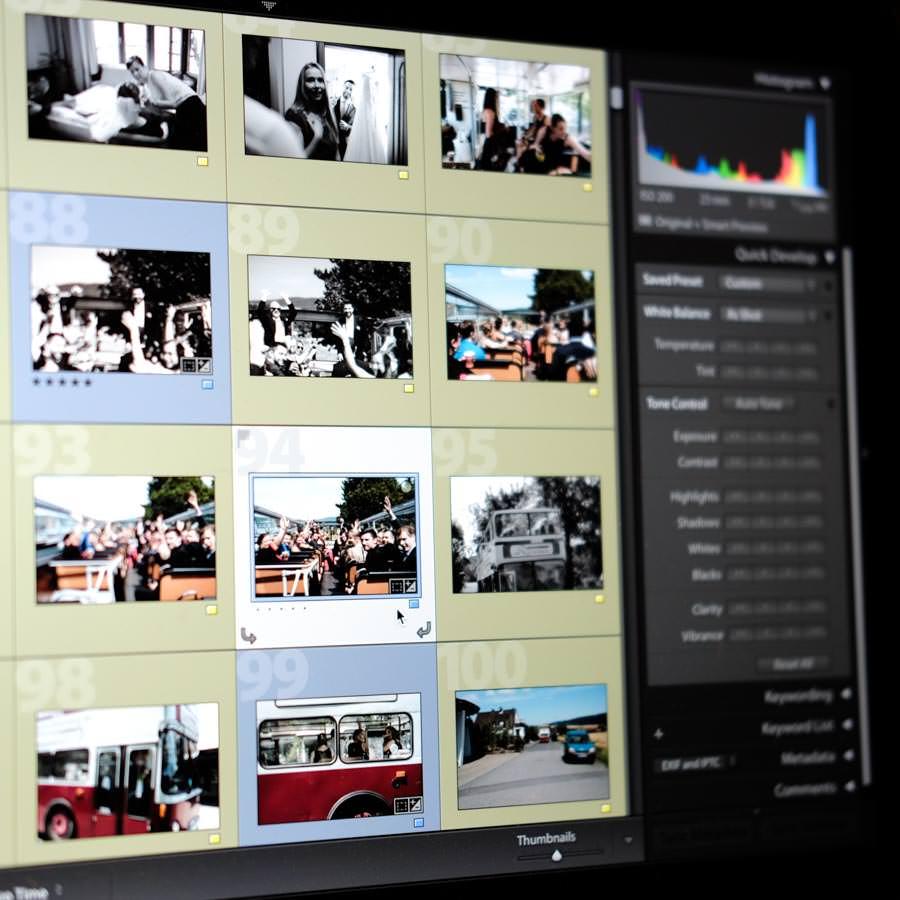 Bildbearbeitung in Adobe Lightroom und Photoshop