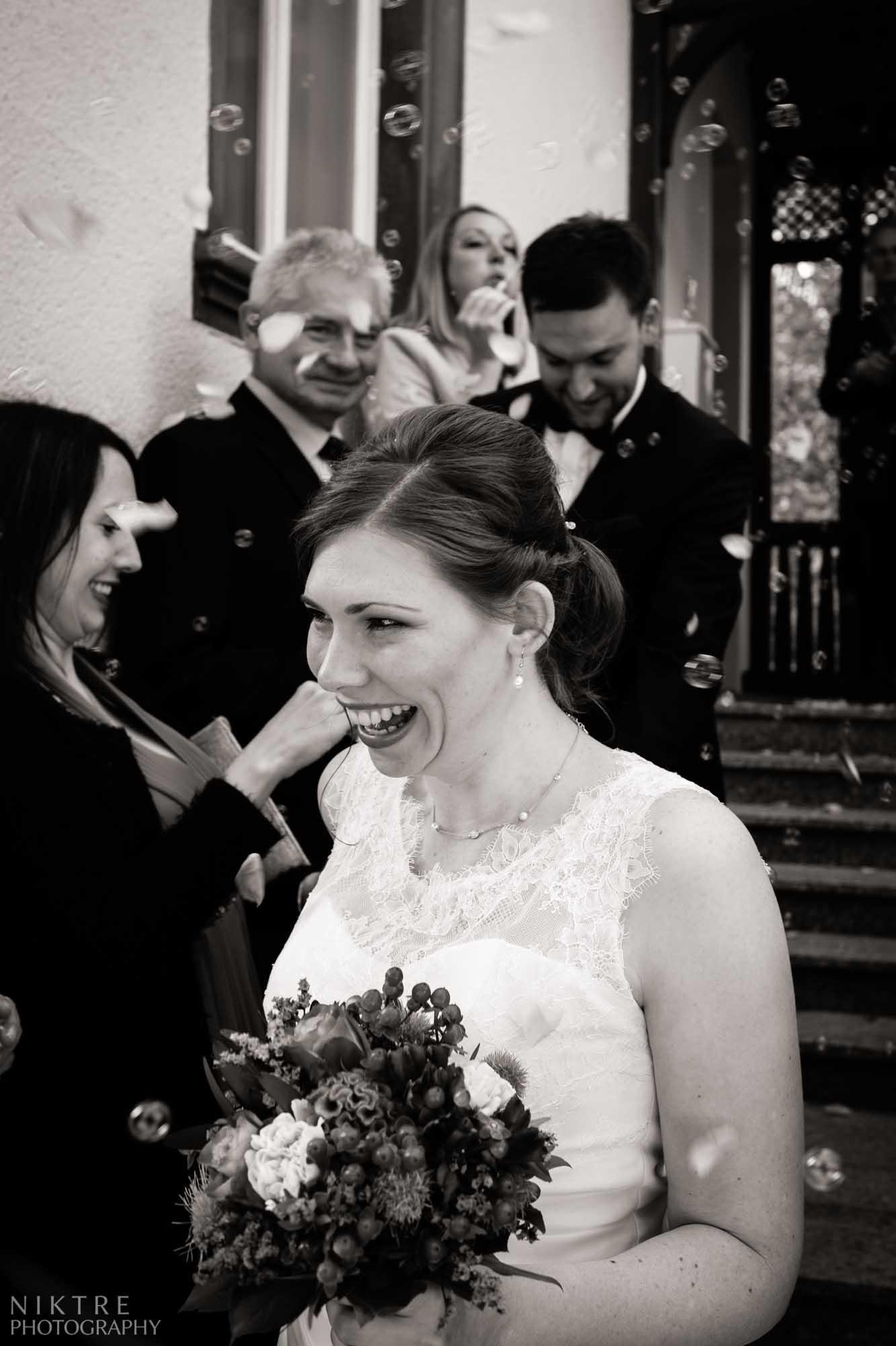 Hochzeitsreportage zeigt Emotionen der Braut