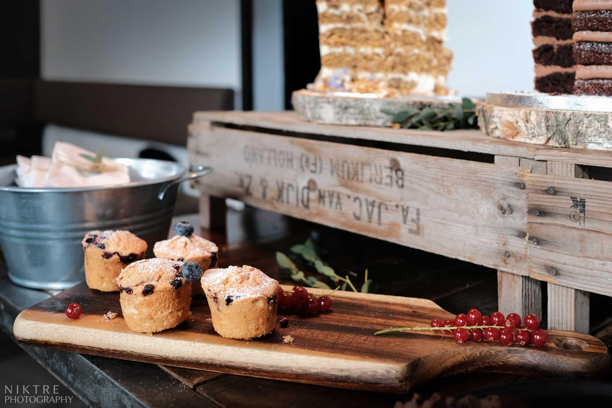 Cupcakes beim Hochzeitsempfang